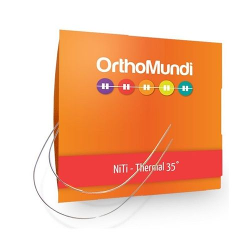 NiTi Termoativado Redondo - OrthoMundi 012 Inferior
