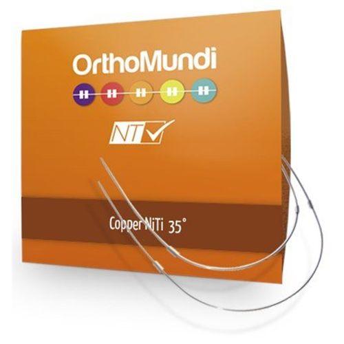 Copper NiTi Redondo - OrthoMundi 014 Inferior