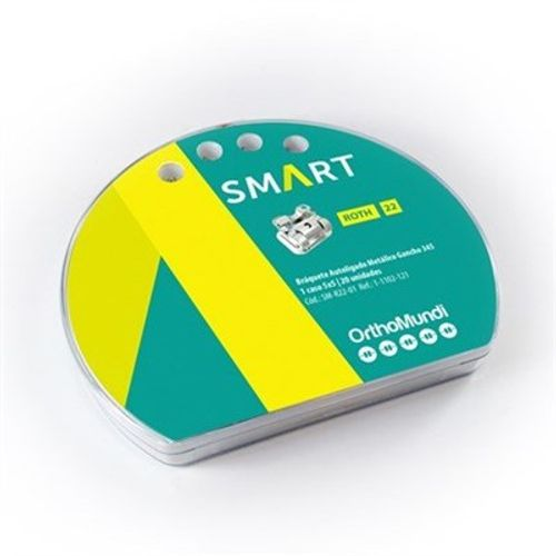 Bráquete Autoligado Interativo MBT SMART - OrthoMundi